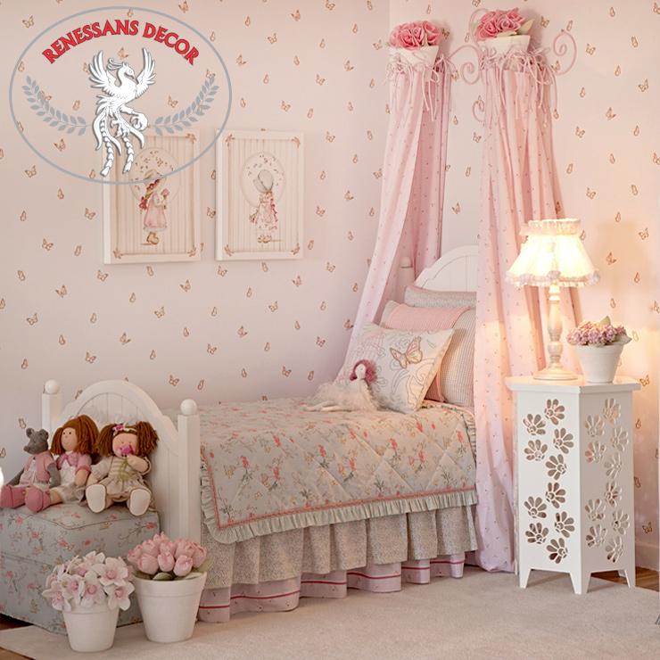 Papel-de-parede-infantil-Infantário-quarto-de-menina-decorado-Bobinex-em-Jundiai