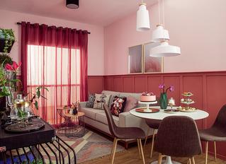 Paredes com Boiserie - 30 ambientes decorados