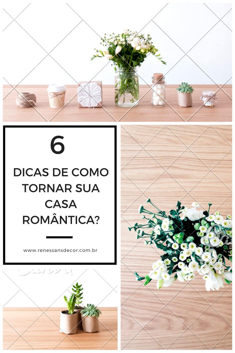 como decorar sua casa no estilo romantico