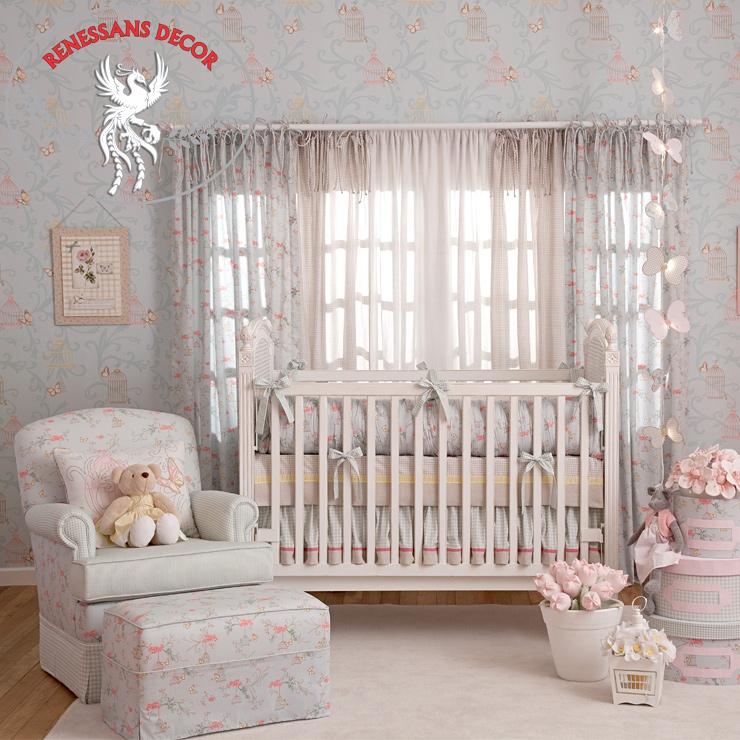 Papel-de-parede-infantil-Infantário-quarto-de-menina-azul-decorado-Bobinex-em-Jundiai