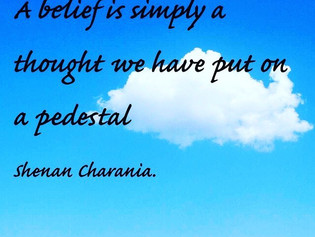 All Beliefs Start With Thought.