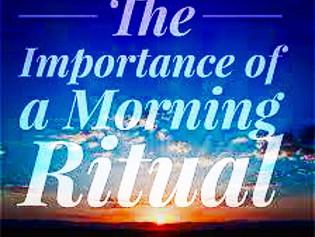 My Daily Ritual.