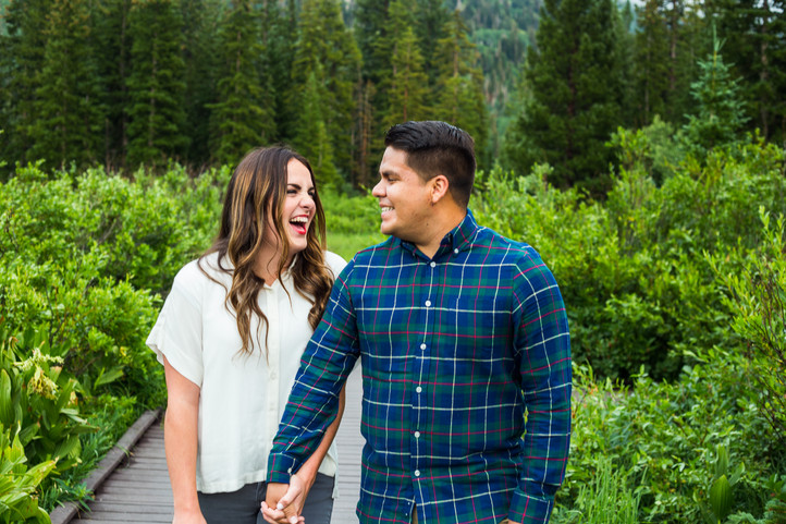 Utah Engagement Photographer | Silver La