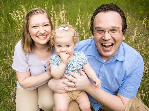 The Sweetest Little Family | Salt Lake City Family Photographer | Mueller Park Utah