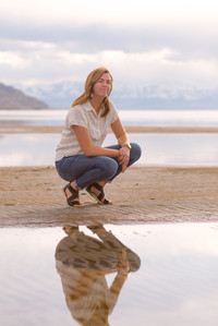Utah Senior Photographer | Great Salt Lake