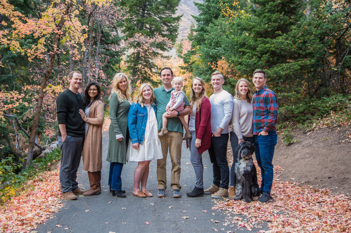 Utah Extended Family Photographer | Millcreek Canyon