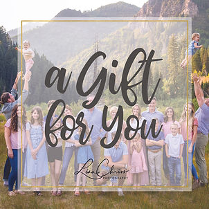 Gift Certificate Front - Extended Family