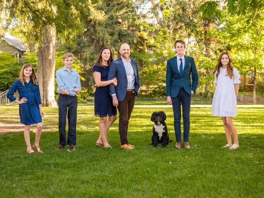The Wall Family | Utah Family Photographer | Garden Park Ward