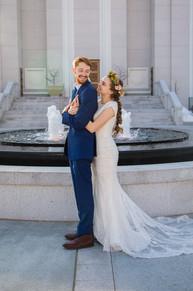 Scandinavian Bountiful Temple Wedding _