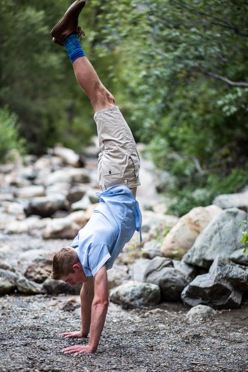 Utah Senior Photographer   Big Cottonwood Canyon