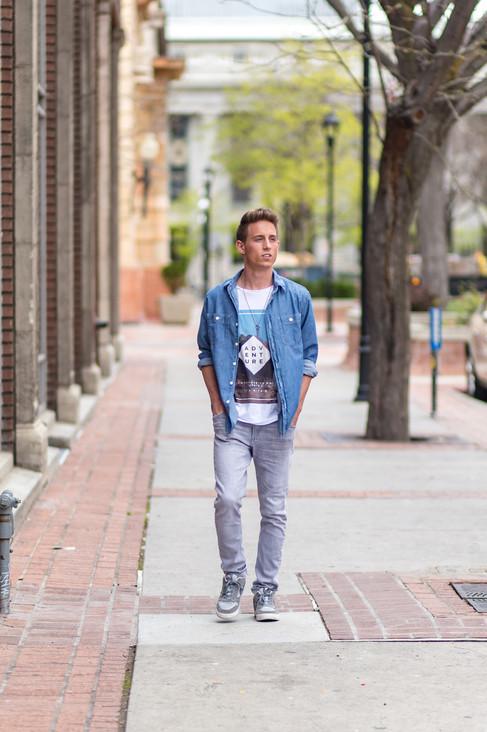 Salt Lake Senior Photographer | Exchange Place