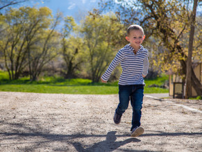 Spencer at Wheeler Farm | Utah Family Photographer