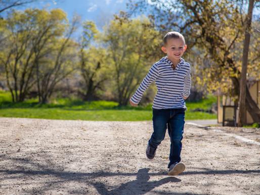 Spencer at Wheeler Farm | Utah Family Photographer