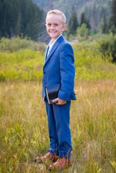 LDS Baptism Photography | Utah Child Photography