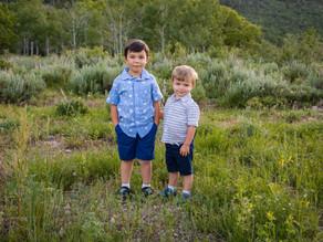 Cute Kiddos   Utah Child Photographer   Snowbasin Utah