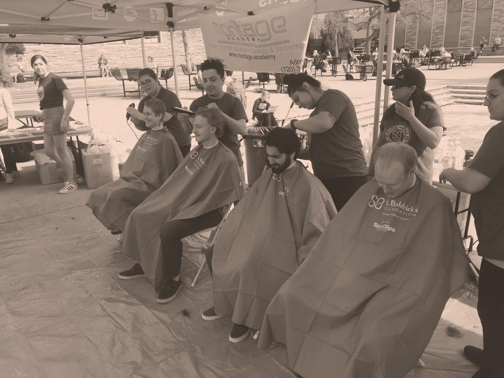 St. Baldrick's Head Shaving