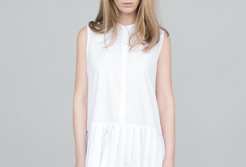 Womens Long Dress White