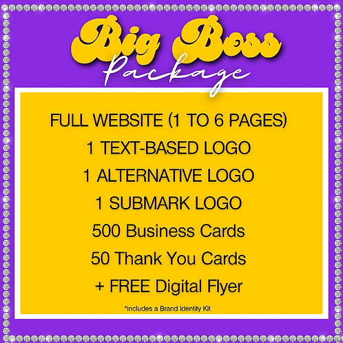 """Big Boss"" Package"