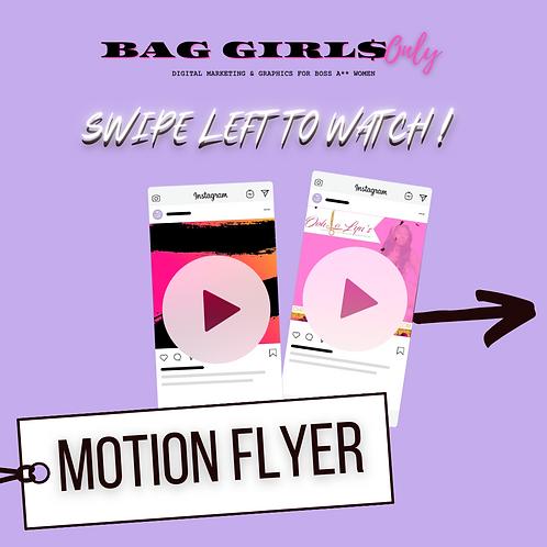 Marketing Motion Flyer