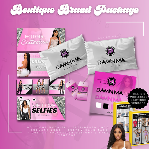 Boutique Brand Package