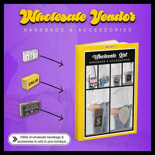 Handbag + Accessories Wholesale