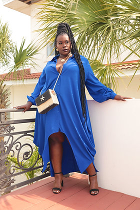 Midnight Blues Dress/Cover Up