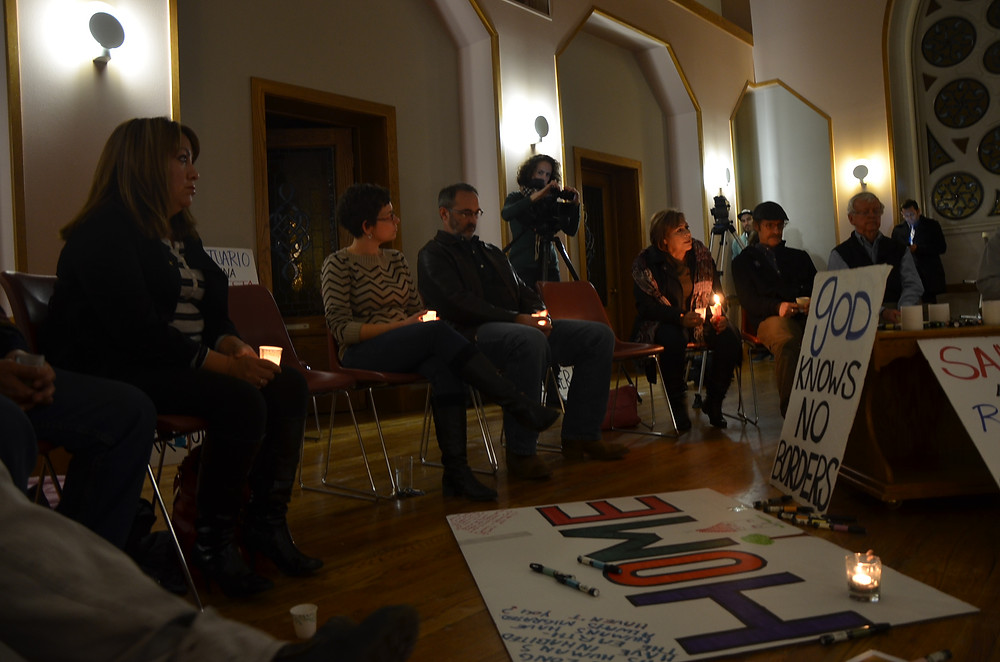 2015_01_05 prayer vigil with Arturo_Photos by Gabriela Flora AFSC (8).JPG