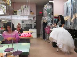 Backroom with Seamstress