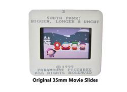 Original 35mm Color Movie Slides