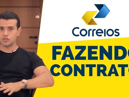 Veja como fazer um Contrato Online com os CORREIOS.