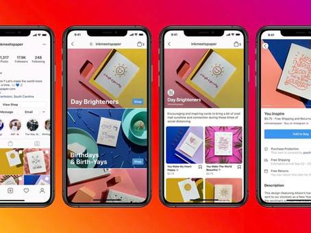Facebook anuncia Shops no app principal e novos recursos para e-commerce