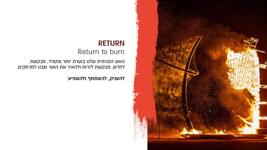 Return to Burn @ Midburn