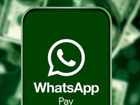 Transferência de dinheiro pelo WhatsApp começa a funcionar.