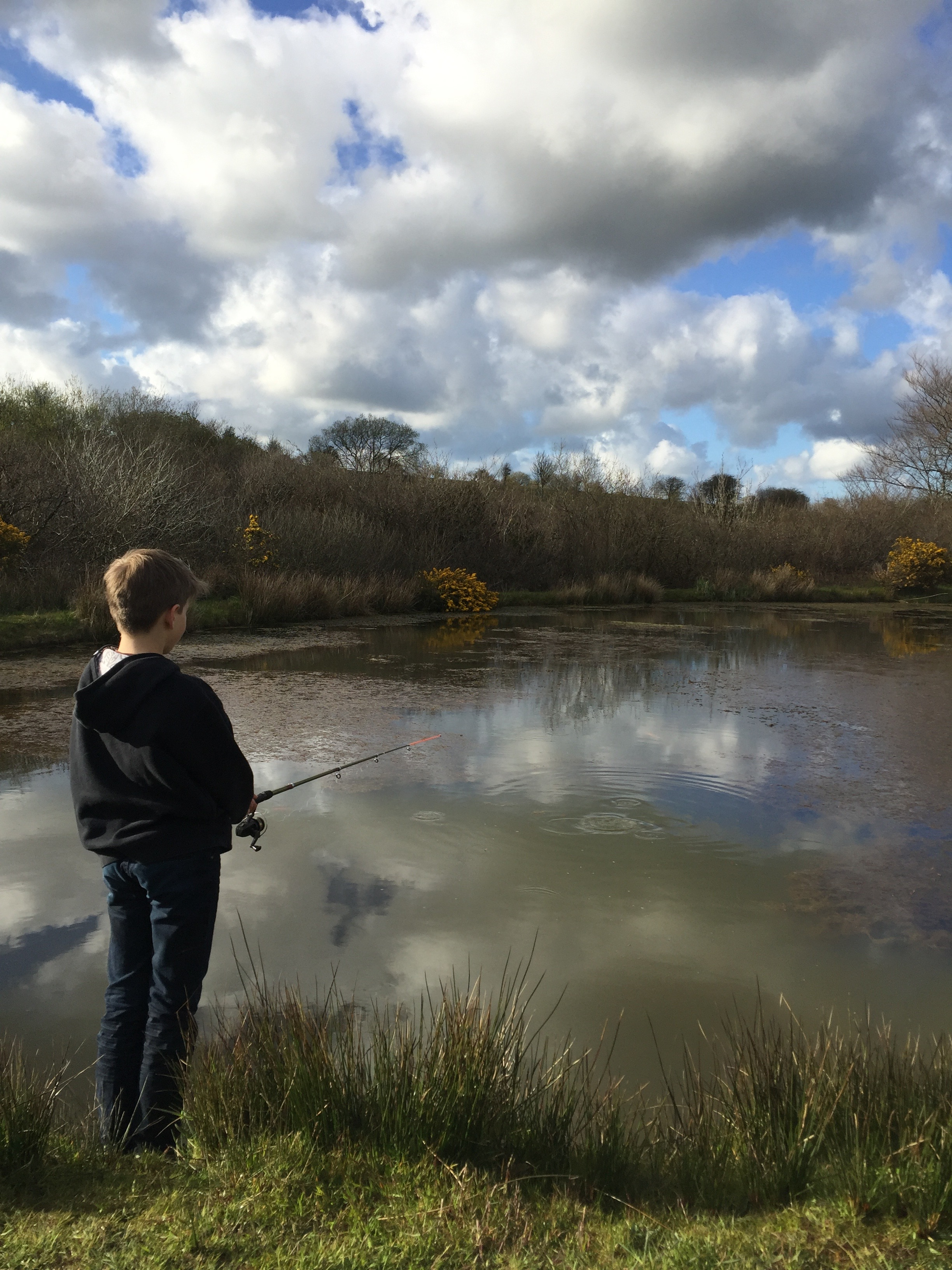 Fishing up the lakes