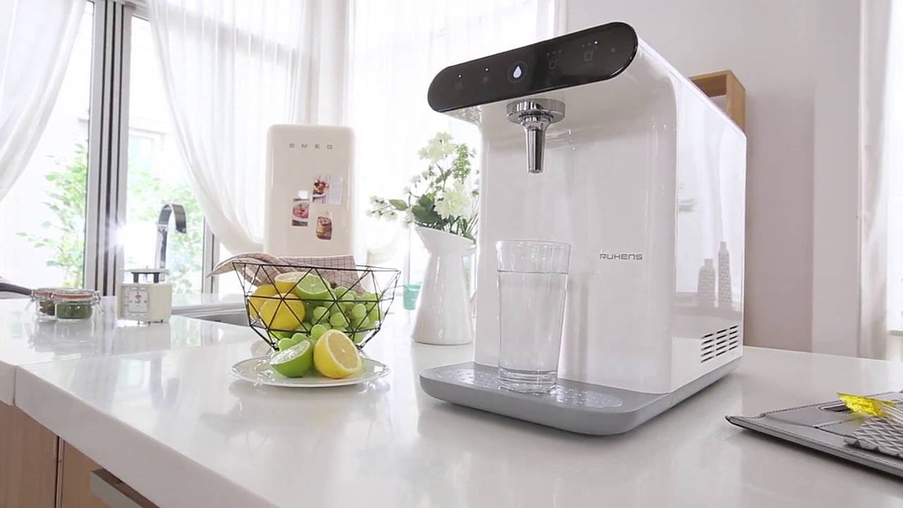 RUHENS WHP760 Φιλτραρισμένο νερό σε διαφορετικές θερμοκρασίες