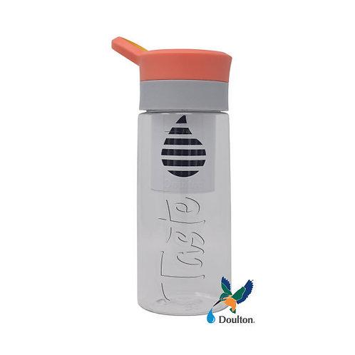 Orange Bottle with Filter, Doulton Taste