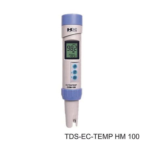 Επαγγελματικός Μετρητής ΗΜ 100 - TDS /pH /Temperature
