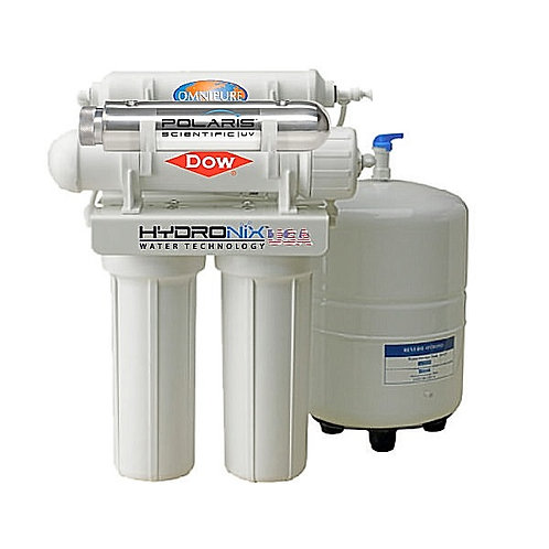 Reverse Osmosis 4 Stages + UV, 75 GPD [RO-475-UV], by HYDRONIX