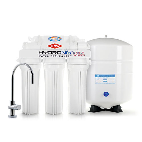 Reverse Osmosis 5 Stages, 75 GPD [RO-575], by HYDRONIX