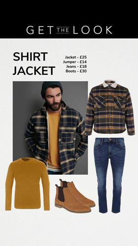 Mens Coat, Get the look story