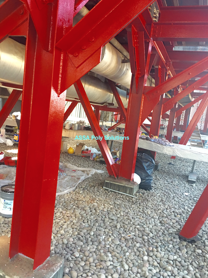 Structural Steel Support