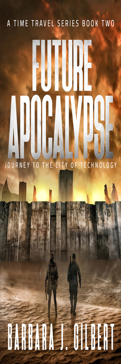 Future Apocalypse book 2 bookmark 2x6