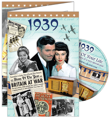1939 The Time Of Your Life Greeting Card with DVD