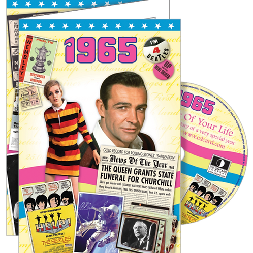 1965 The Time Of Your Life Greeting Card with DVD
