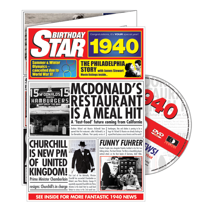 1940-1949 Star DVD