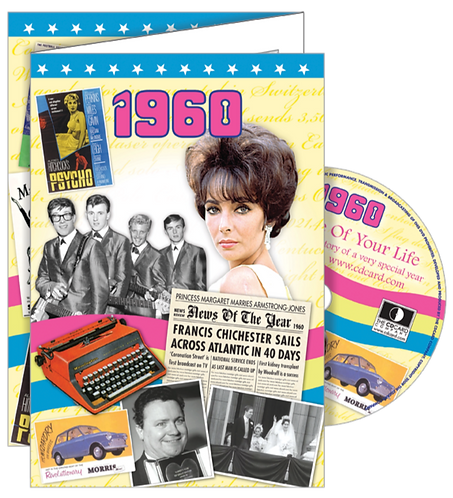 1960 The Time Of Your Life Greeting Card with DVD