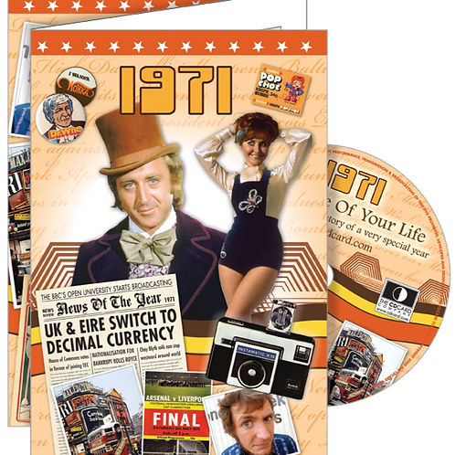 1971 The Time Of Your Life Greeting Card with DVD