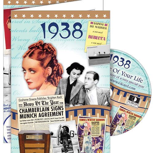 1938 The Time Of Your Life Greeting Card with DVD