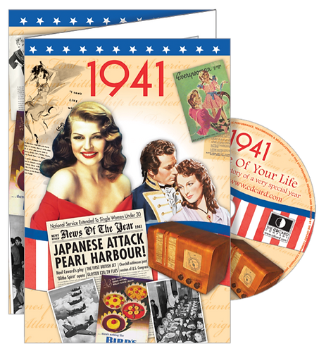 1941 The Time Of Your Life Greeting Card with DVD
