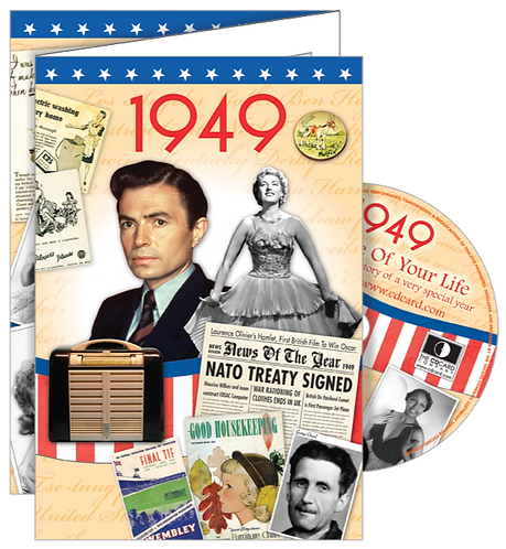 1949 The Time Of Your Life Greeting Card with DVD
